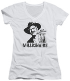 Juniors: Beverly Hillbillies - Millionaire V-Neck T-Shirt