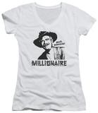 Juniors: Beverly Hillbillies - Millionaire V-Neck Shirts