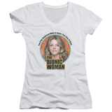 Juniors: Bionic Woman - Under My Skin V-Neck T-shirts