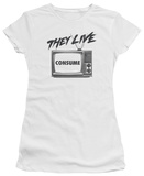 Juniors: They Live - Consume T-shirts