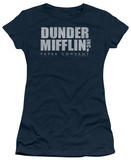 Juniors: The Office - Dunder Mifflin Distressed T-shirts