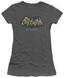 Juniors: Batman Classic TV - In Color T-Shirt