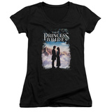 Juniors: The Princess Bride - Storybook Love V-Neck Shirt