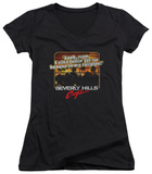 Juniors: Beverly Hills Cop - Banana In My Tailpipe V-Neck T-Shirt