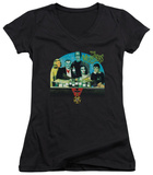 Juniors: The Munsters - 50 Year Potion V-Neck T-shirts