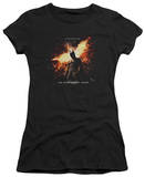 Juniors: Dark Knight Rises - Fire Will Rise T-Shirt