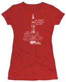 Juniors: Weird Science - Rocket Shirt