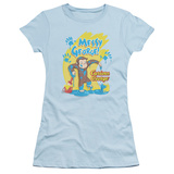 Juniors: Curious George - Messy George T-Shirt