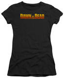 Juniors: Dawn Of The Dead - Dawn Logo T-Shirt
