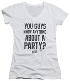 Juniors: Dazed And Confused - Party Time V-Neck T-shirts