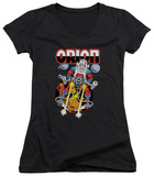 Juniors: DC Comics - Orion V-Neck T-Shirt