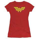 Juniors: Wonder Woman - Rough Wonder T-Shirt