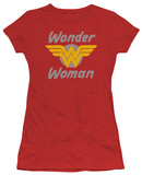 Juniors: Wonder Woman - Wonder Wings T-shirts