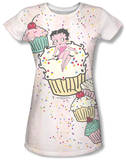 Juniors: Betty Boop - Cake Boop T-shirts
