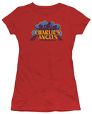 Juniors: Charlie's Angels - Faded Logo T-Shirt