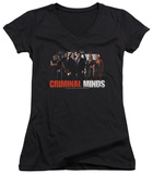 Juniors: Criminal Minds - The Brain Trust V-Neck Shirts