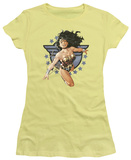 Juniors: Wonder Woman - Wonder Woman All Star T-shirts