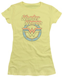 Juniors: Wonder Woman - Faded Wonder Shirts