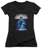 Juniors: Big Miracle - Poster V-Neck T-Shirt