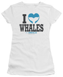 Juniors: Big Miracle - I Heart Whales Shirts
