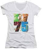 Juniors: Elvis Presley - Birthday 2010 V-Neck T-shirts