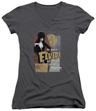 Juniors: Elvira - You Can Call Me Tonight V-Neck Shirt