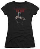 Juniors: Dark Knight Rises - Permission To Die Shirt