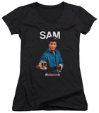 Juniors: Cheers - Sam V-Neck T-shirts