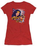 Juniors: Wonder Woman - Pop Art Wonder Shirts
