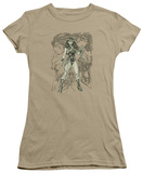 Juniors: Wonder Woman - Wonder Woman Sketch T-Shirt