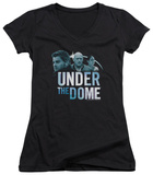 Juniors: Under The Dome - Character Art V-Neck Shirts