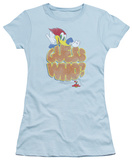 Juniors: Woody Woodpecker - Guess Who T-Shirt