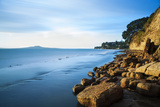 Mairangi Bay Coastal Walk Just after Sunrise Photographic Print by Robin Bush