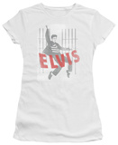 Juniors: Elvis Presley - Iconic Pose T-shirts