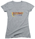 Juniors: Fast Times at Ridgemont High - Distressed Logo V-Neck Womens V-Necks