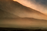 Sandstorm at Mesquite Sand Dunes, Sunset Photographic Print by  JoSon