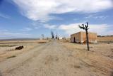 Desert Road Leading to Small Village Photographic Print by Filipe Jorge da Silva Brand£o