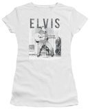 Juniors: Elvis Presley - With The Band Shirts