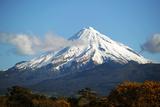 Mount Taranaki Photographic Print by Davis McCardle