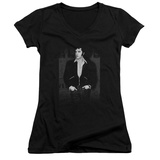 Juniors: Elvis Presley - Just Cool V-Neck T-shirts