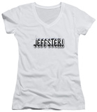 Juniors: Chuck - Jeffster V-Neck T-Shirt