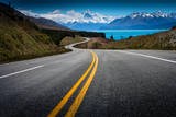 Road to Mt. Cook Photographic Print by NitiChuysakul Photography