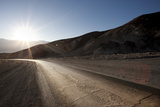 Road through Mountain, Artist Drive, Death Valley Photographic Print by  JoSon