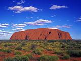 Ayers Rock, Northern Territory, Australia Fotografie-Druck von Hans-Peter Merten