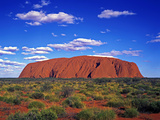 Ayers Rock, Northern Territory, Australia Photographic Print by Hans-Peter Merten