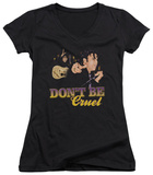 Juniors: Elvis Presley - Don't Be Cruel V-Neck T-shirts