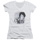 Juniors: Elvis Presley - Lonesome Tonight V-Neck T-shirts