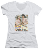 Juniors: Fast Times at Ridgemont High - Fast Carrots V-Neck T-Shirt