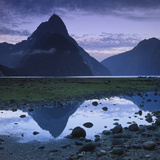 Mitre Peak Photographic Print by Atan Chua