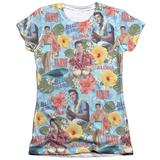Juniors: Elvis Presley - Surf's Up T-shirts